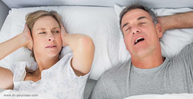 درمان خروپف با جراحی بینی